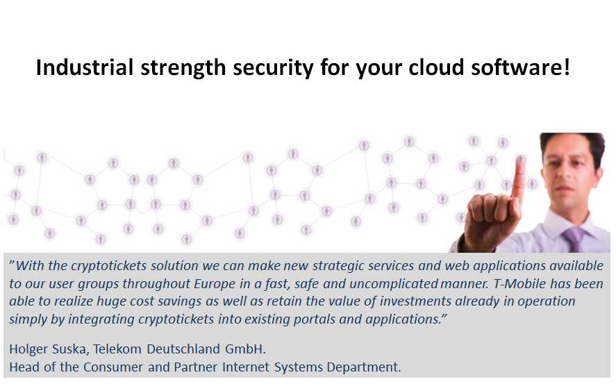 chose industrial strength security for your cloud services and applications!
